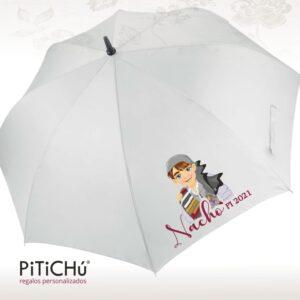 gran paraguas personalizado para presidente infantil